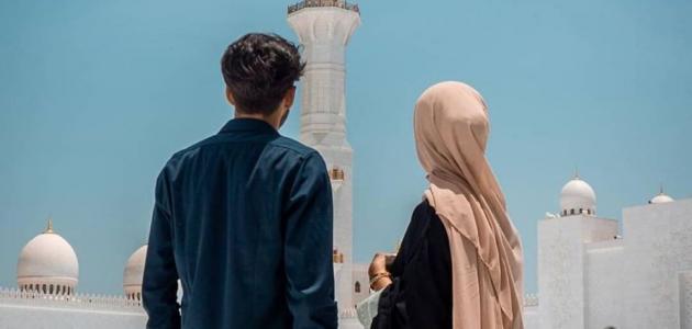 هل يجوز تقبيل الزوجة في رمضان حياتك