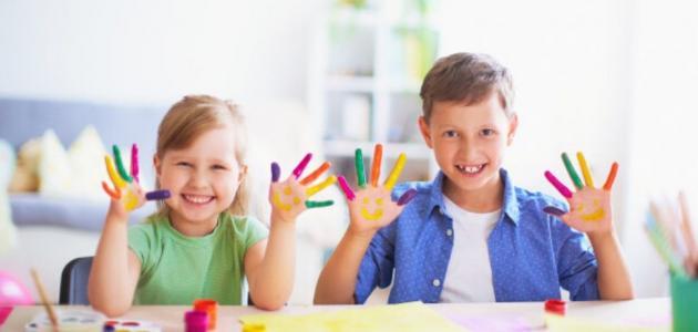 ألعاب بالورقة والقلم مسلية للأطفال
