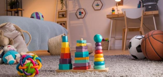 ألعاب الأطفال من عمر السنة إلى سنتين