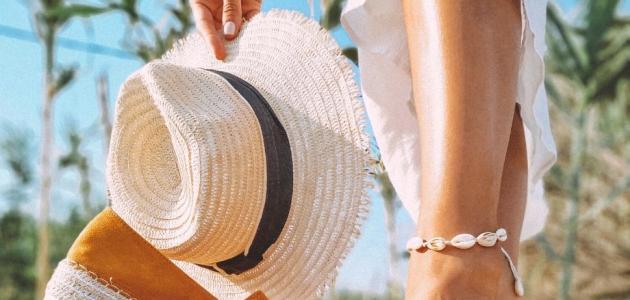 نصائح لك لتسمير بشرتك في الصيف