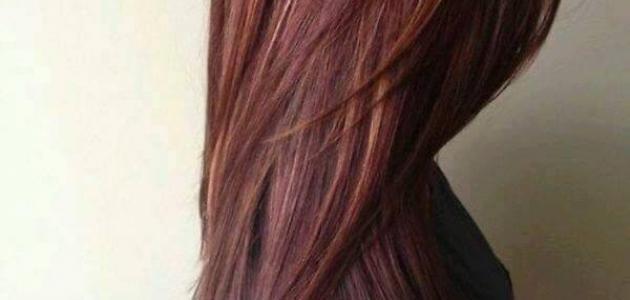 التخلص من اللون الأحمر في الشعر