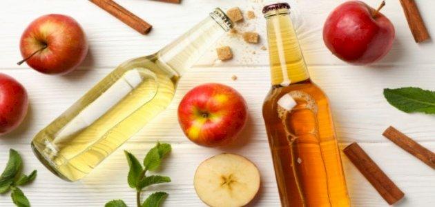 الفرق بين خل التفاح والخل الأبيض