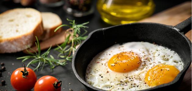 تعرفي على عدد السعرات الحرارية في البيض المقلي!