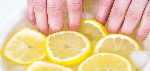 الليمون للأظافر: مغذٍ طبيعي وضروري للمعانها وقوتها!