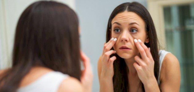 علامات الحمل من العين: هل الهالات السوداء أحدها؟