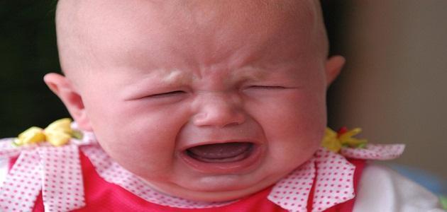 اسباب بكاء الطفل قبل النوم