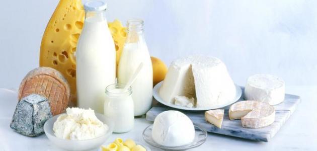 الأكلات التي تحتوي على الكالسيوم