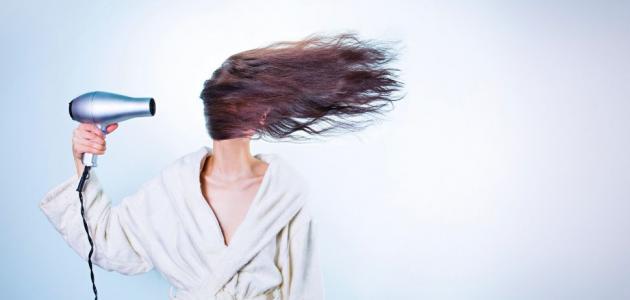 التخلص من نفشة الشعر