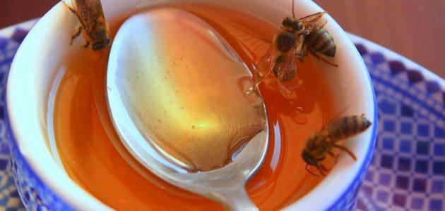 تناول العسل على الريق