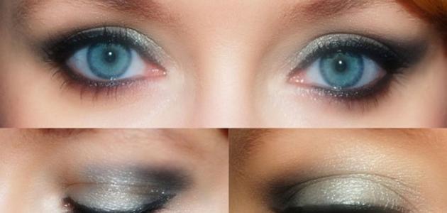 أسهل طريقة لرسم العين بالكحل