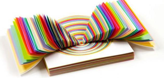 d1807fda3ab15 صناعة أشكال من الورق - حياتكِ