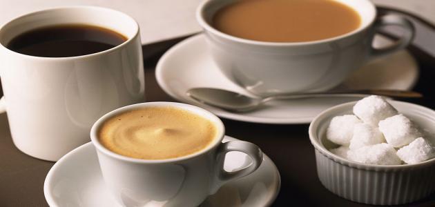 اضرار القهوة والشاي