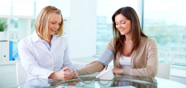 قياس ضغط الدم الطبيعي للانسان