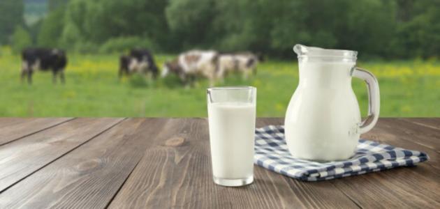 اضرار الحليب خالي الدسم