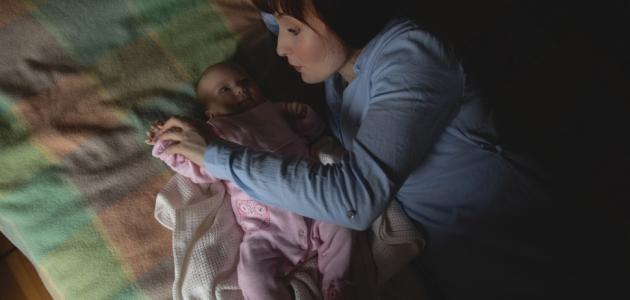 كيف انظم نوم اطفالي