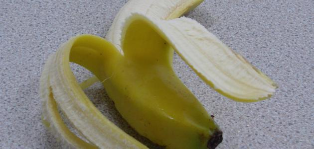 طريقة تجفيف قشر الموز