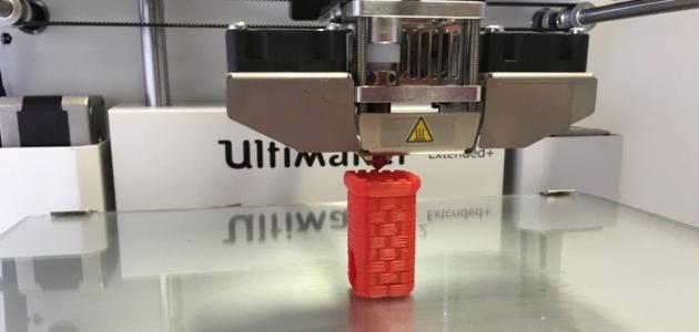 كيف تعمل الطابعة ثلاثية الابعاد