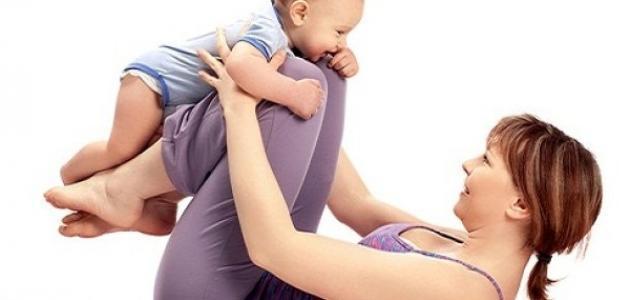 كيفية انقاص الوزن بعد الولادة