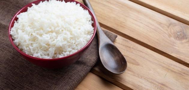 فوائد الرز المسلوق حياتك