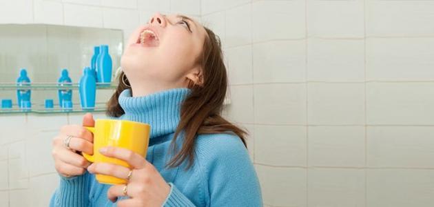 فوائد الغرغره بالماء والملح