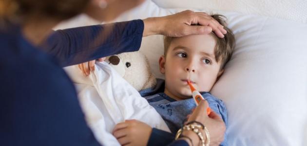 علاج ارتفاع درجة الحرارة عند الاطفال بالاعشاب
