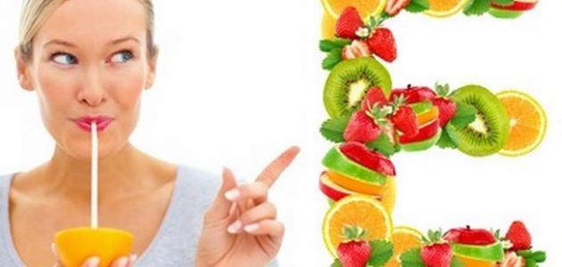 اطعمة تحتوي على فيتامين E