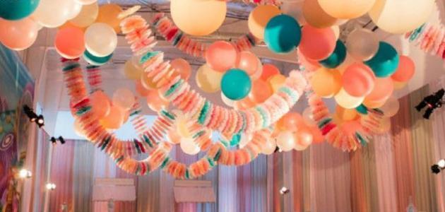 طريقة نفخ البالونات بالهيليوم