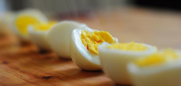 طريقة سلق البيض الصحيحة حياتك